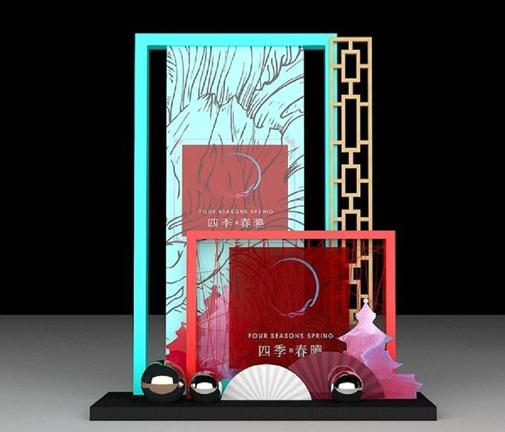 创意展柜设计效果图