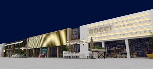 碧桂园-星樾时代商业街设计方案的效果图7