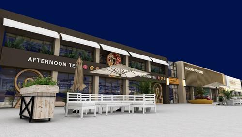 碧桂园-星樾时代商业街设计方案的效果图8