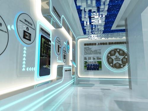 碧桂园-星樾时代看方通道设计方案的效果图3