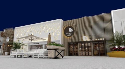 碧桂园-星樾时代商业街设计方案的效果图2