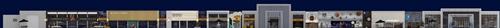 碧桂园-星樾时代商业街设计方案的全景效果图