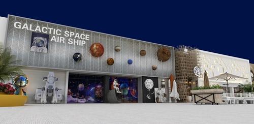 碧桂园-星樾时代商业街设计方案的效果图3