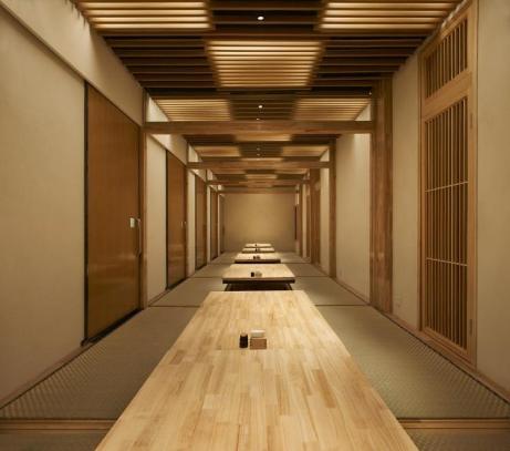 展厅设计公司浅谈日式餐厅走廊设计