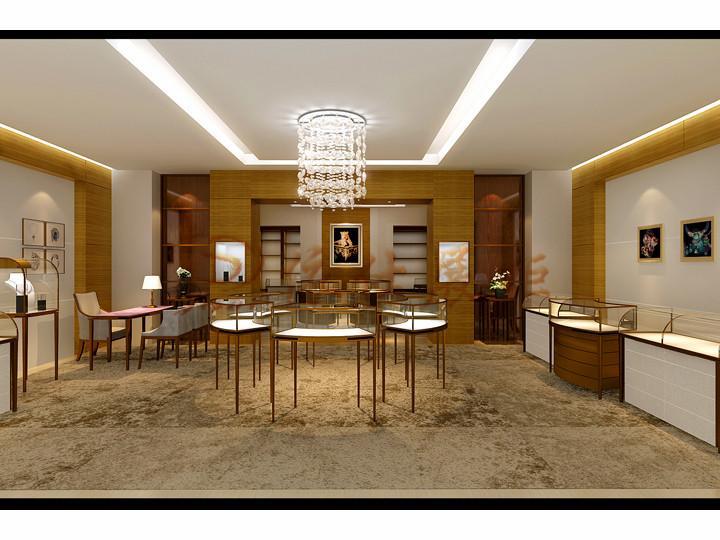 珠宝展厅设计装修效果图