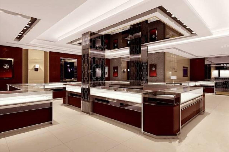 珠宝展厅设计装修局部图