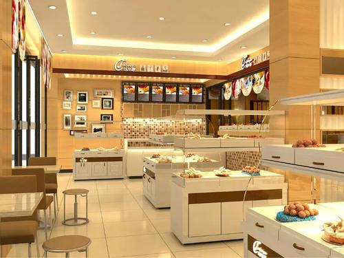 展厅设计公司的蛋糕店室内设计效果图