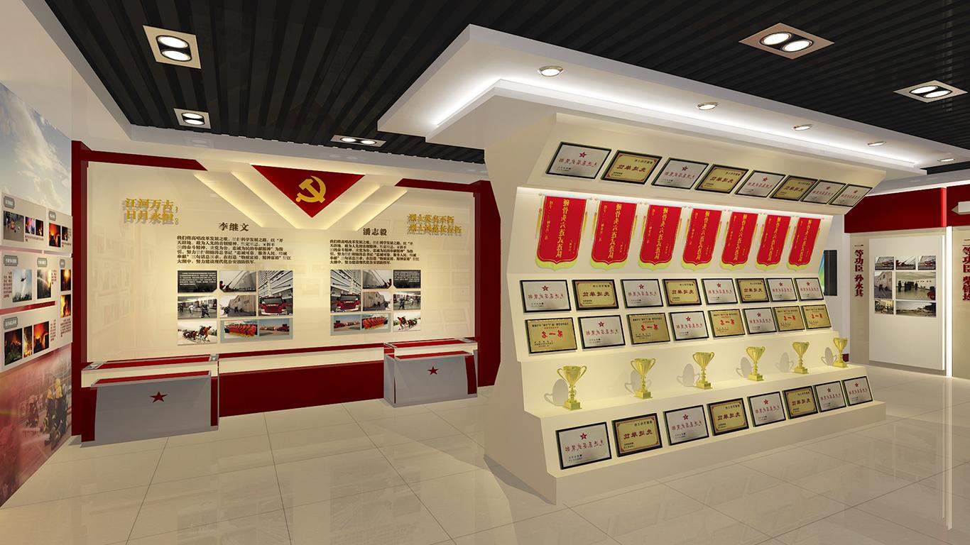 展厅设计公司的队史馆设计案例展示
