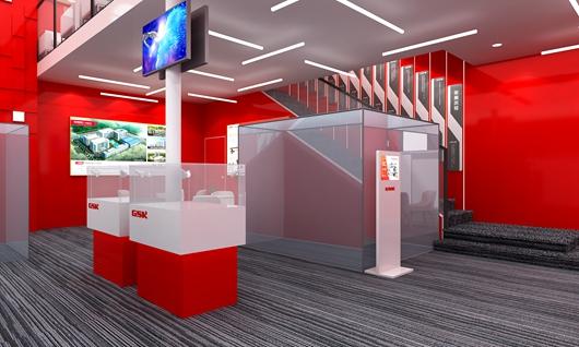 广州数控展台设计搭建方案的内部效果图