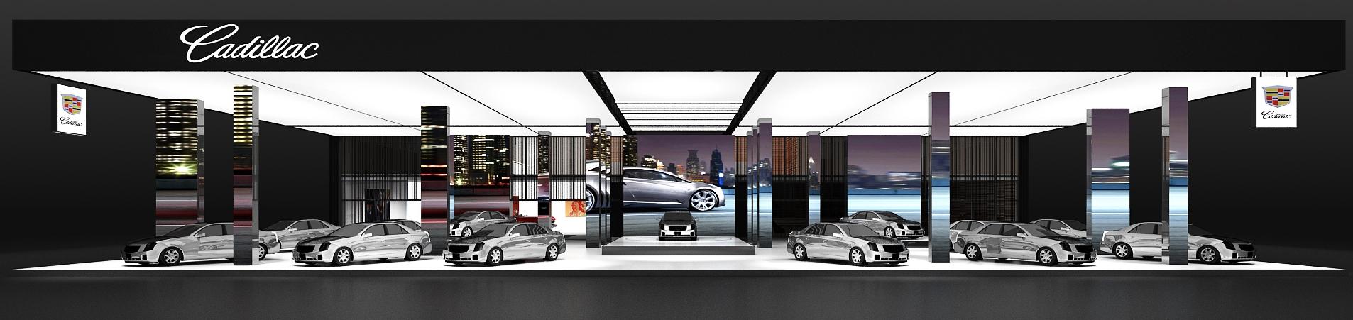 汽车展台设计图1