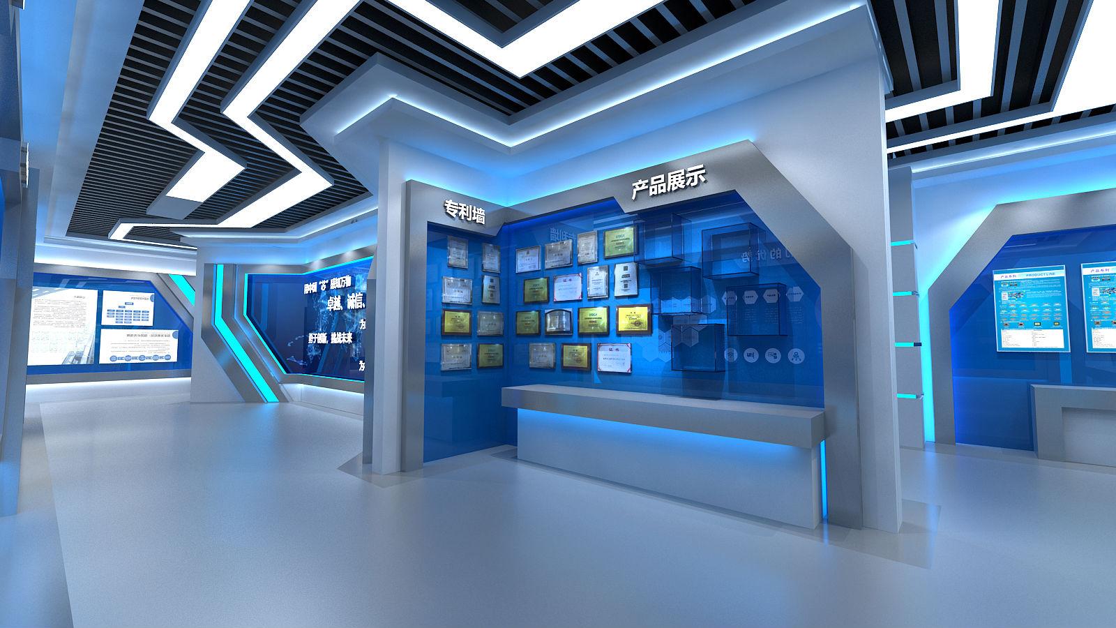 恒拓展厅设计方案图片的专利墙