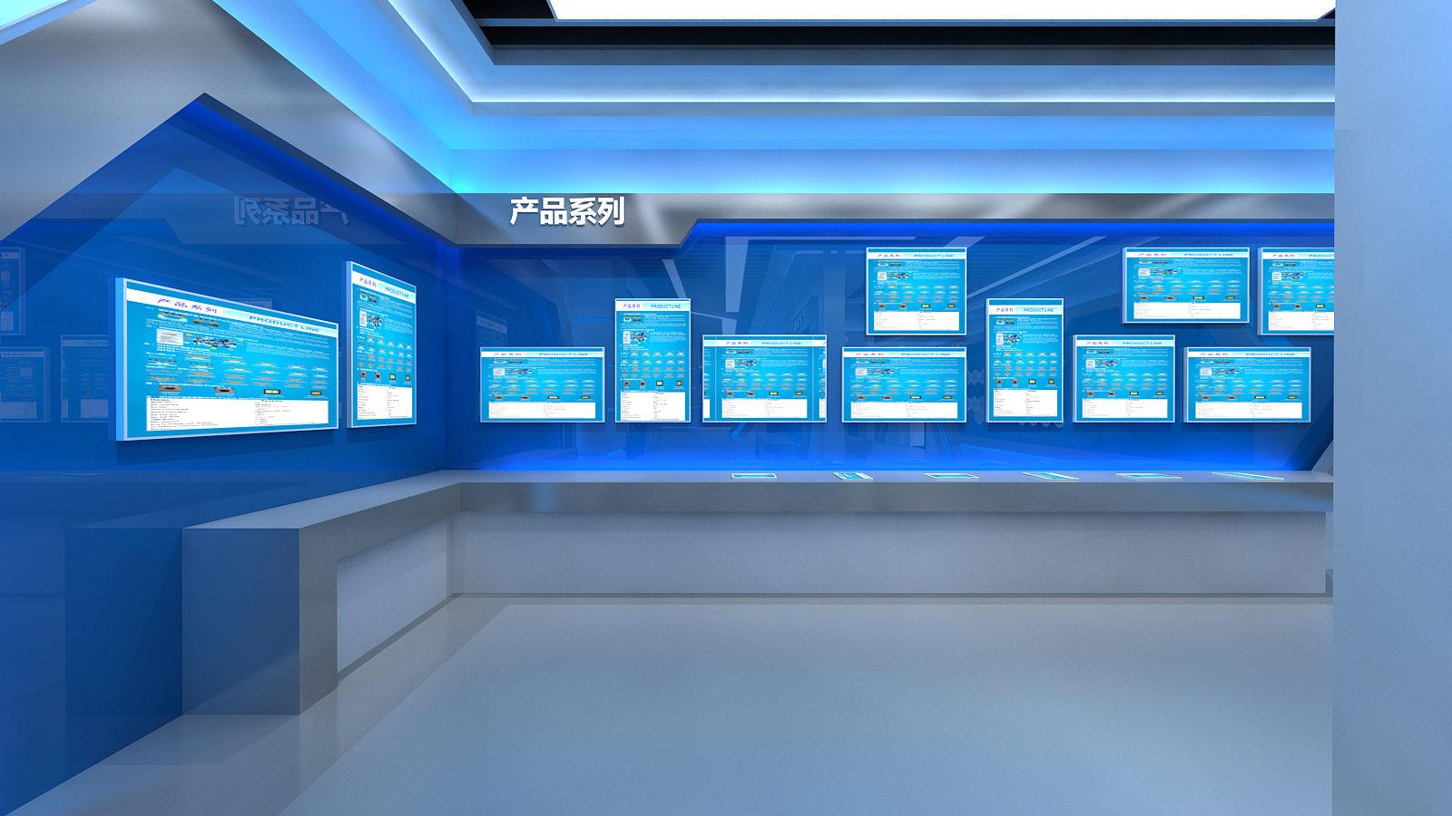 恒拓展厅设计方案图片的产品展示效果图