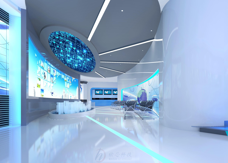 展厅设计公司的交互设计效果图