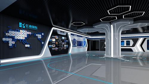 高科技展厅设计效果图