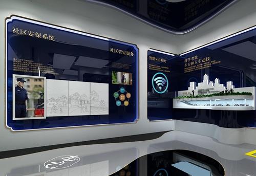 碧桂园珑悦体验馆设计方案之展示区域设计效果图