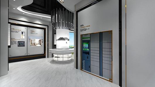 碧桂园观邸体验馆设计方案之转角设计效果图6