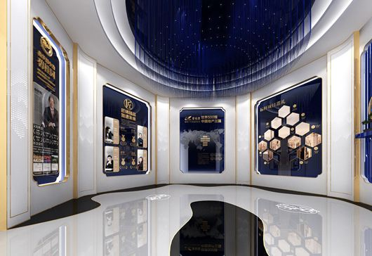 碧桂园珑悦体验馆设计方案之展示大厅设计