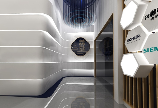 碧桂园珑悦体验馆设计方案之展示区域设计效果图16