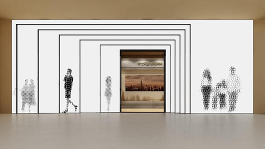 碧桂园新城体验馆设计方案之入口设计效果图