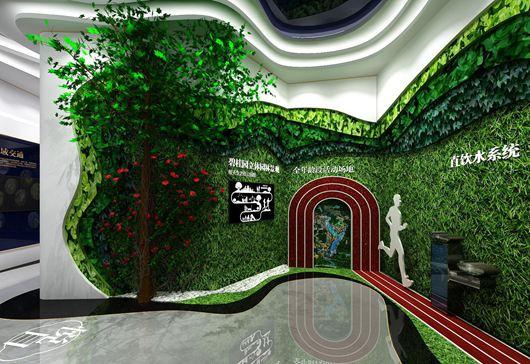 碧桂园珑悦体验馆设计方案之墙面设计效果图8