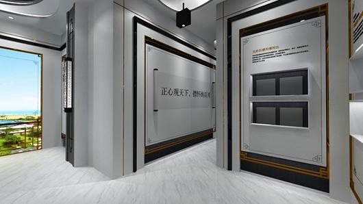 碧桂园观邸体验馆设计方案之展示设计效果图3