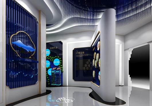 碧桂园珑悦体验馆设计方案之墙面设计效果图