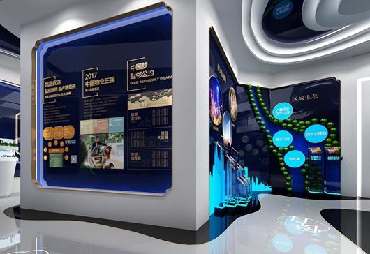 碧桂园珑悦体验馆设计方案之转角设计效果图