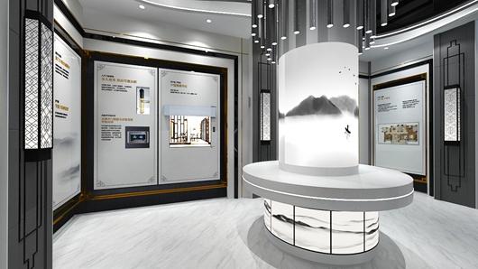 碧桂园观邸体验馆设计方案之大厅设计效果图