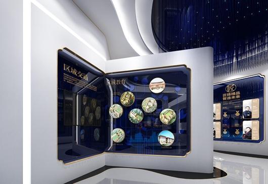 碧桂园珑悦体验馆设计方案之墙面设计效果图3