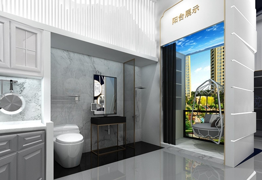 碧桂园珑悦体验馆设计方案之展示区域设计效果图14