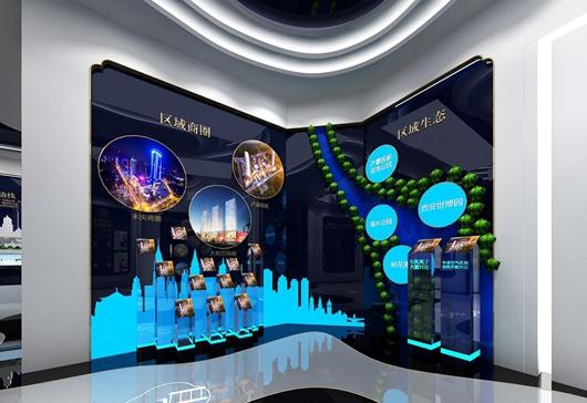 碧桂园珑悦体验馆设计方案之墙面设计效果图5