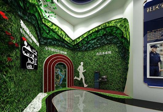 碧桂园珑悦体验馆设计方案之墙面设计效果图7