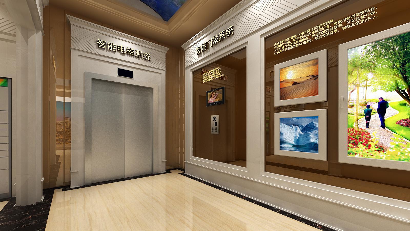碧桂园新城体验馆设计方案之转角设计效果图