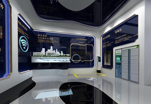 碧桂园珑悦体验馆设计方案之展示区域设计效果图2