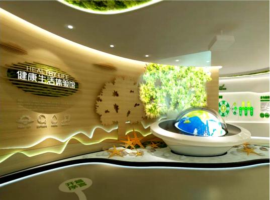 碧桂园滨海城体验馆设计方案之现场效果图