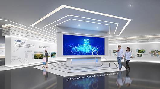 科技展厅设计方案之展示大厅设计效果图