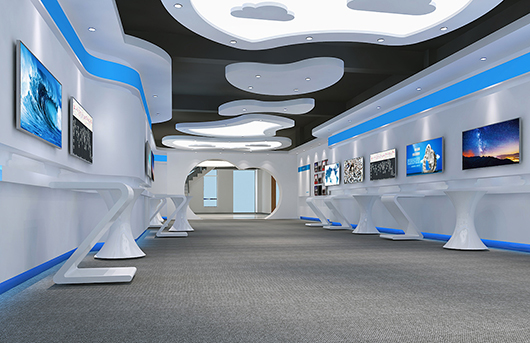 科技展览馆设计效果图4