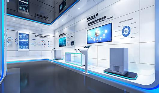 科技展览馆设计效果图2