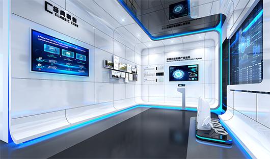 科技展览馆设计效果图1