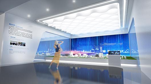 科技展厅设计方案之展示区域设计效果图