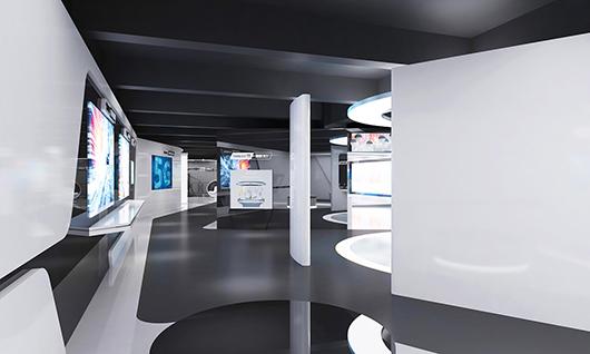 智能科技展厅装修效果图7