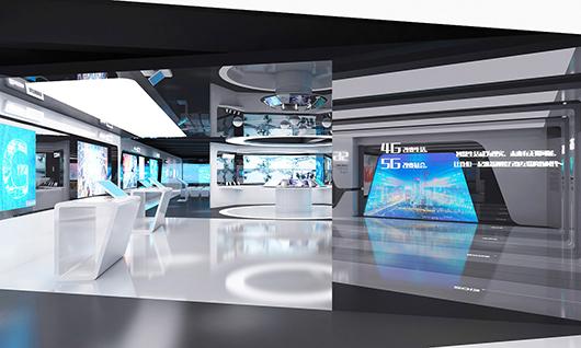 智能科技展厅装修效果图5