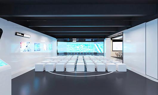 智能科技展厅装修效果图4