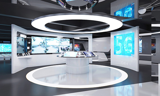 企业展馆展厅设计效果图