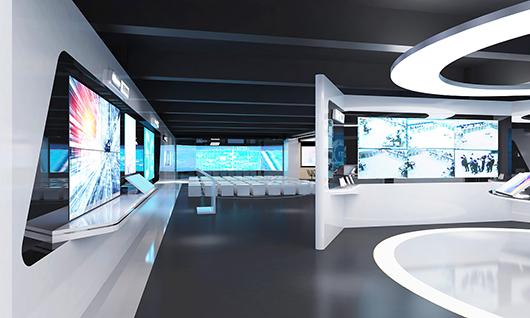 智能科技展厅装修效果图6