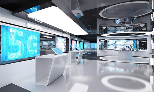 智能科技展厅装修效果图2