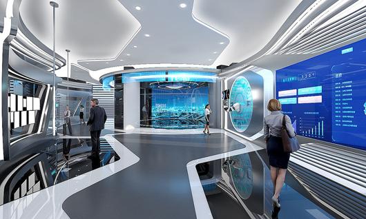 科技展厅设计效果图7