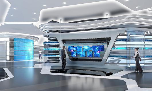 科技展厅设计效果图9