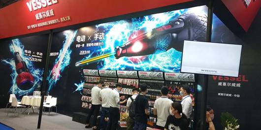 中国国际五金博览会产品展台现场效果图4
