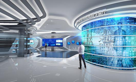 科技展厅设计效果图4